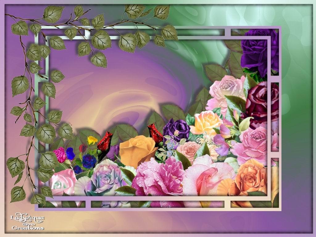 Обои для рабочего стола Цветы № 347
